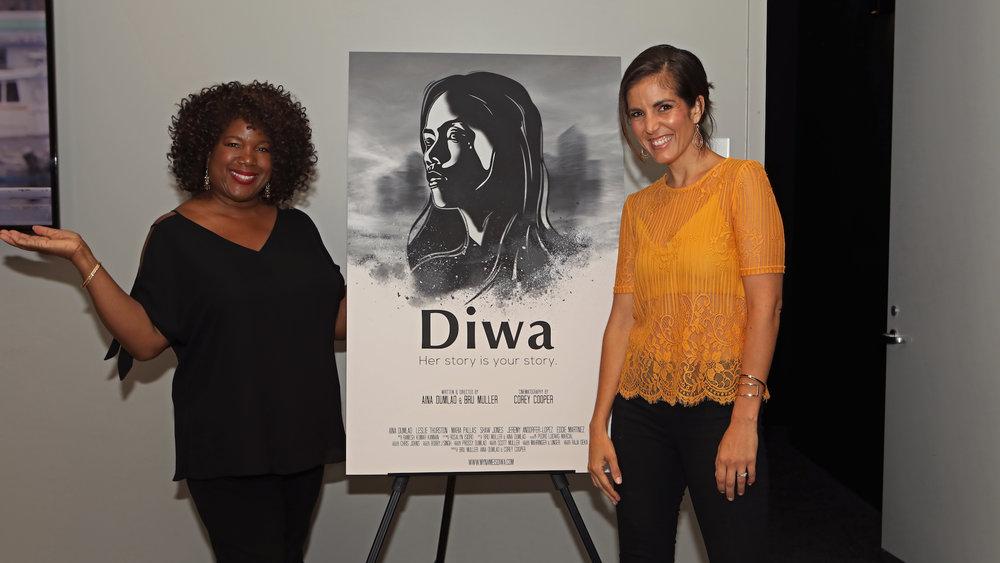 Leslie & Maria at the Diwa Poster.jpg