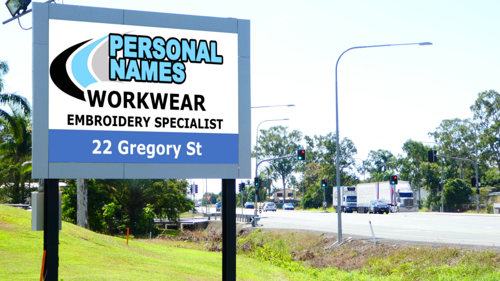 Bakers Creek - Site Information: Bakers CreekSituated on the southern approach to Mackay on the Bruce Highway. Location Black Springs Golf CourseSign Type      LED P10Direction       Inbound, Left-hand Single SidedTraffic Flow  15,000 vehicles per day