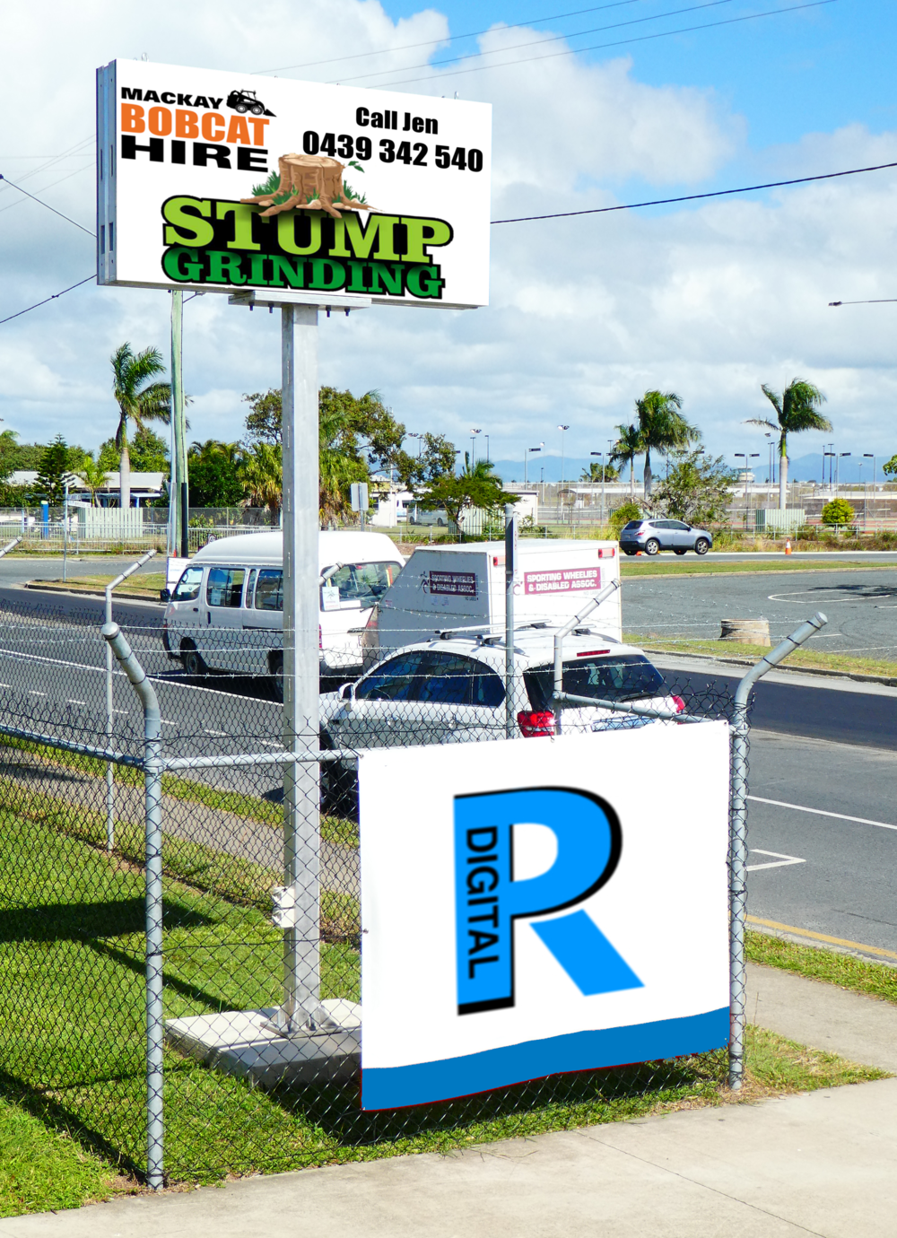 Mackay South - Site Information: Mackay BasketballLocation   Juliet Street in the heart of the sporting centers and StadiumsSign Type      LED P5.9Direction      Double Sided SignTraffic Flow  5,000 Per Day