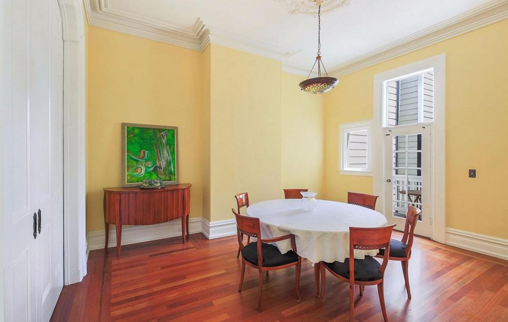 75 Waller Street - dining room