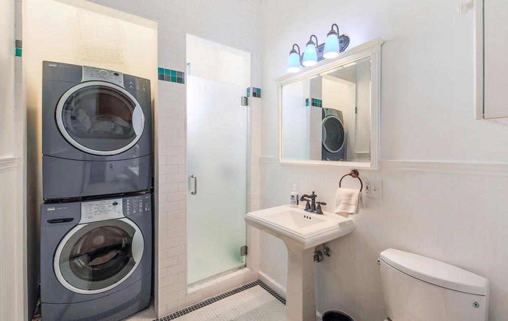 75 Waller Street - bathroom/laundry