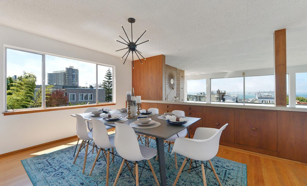 836 Bay Street - dining room with views