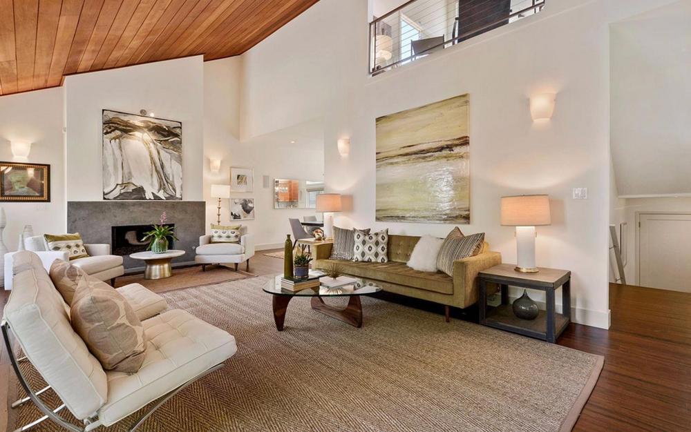 1967 Pine Street - living room