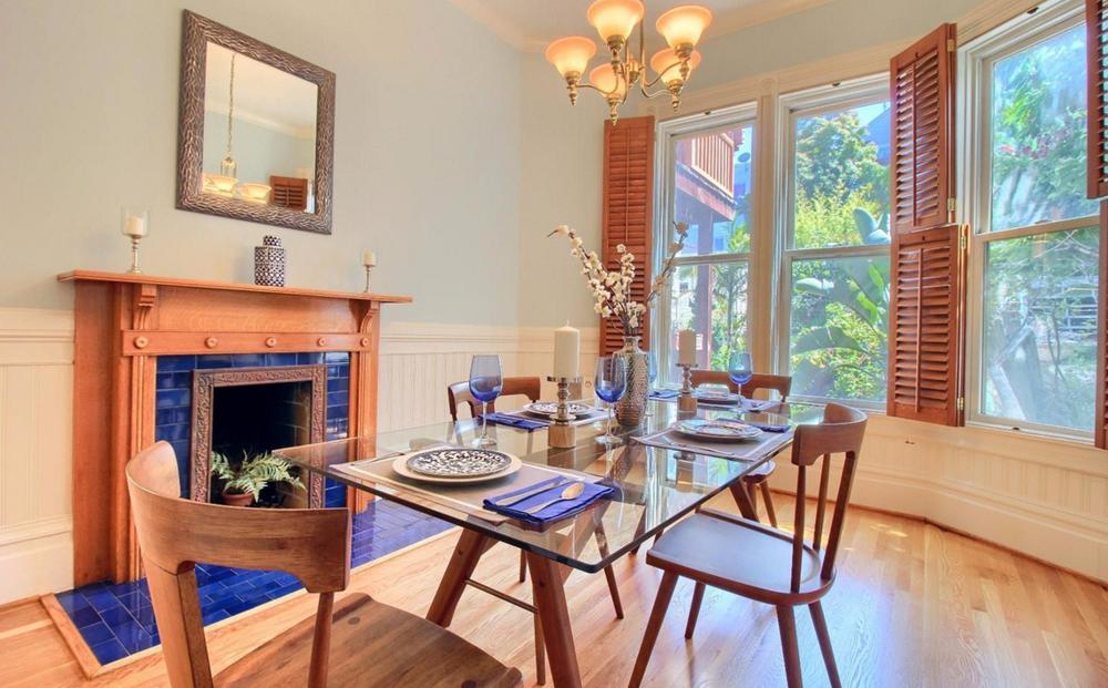 1423 Golden Gate Avenue - dining room