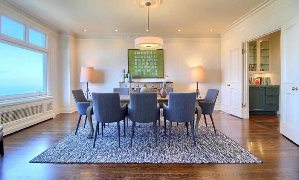947 Green Street #2 - dining room