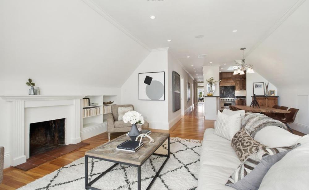 2831 Webster Street - Living Room