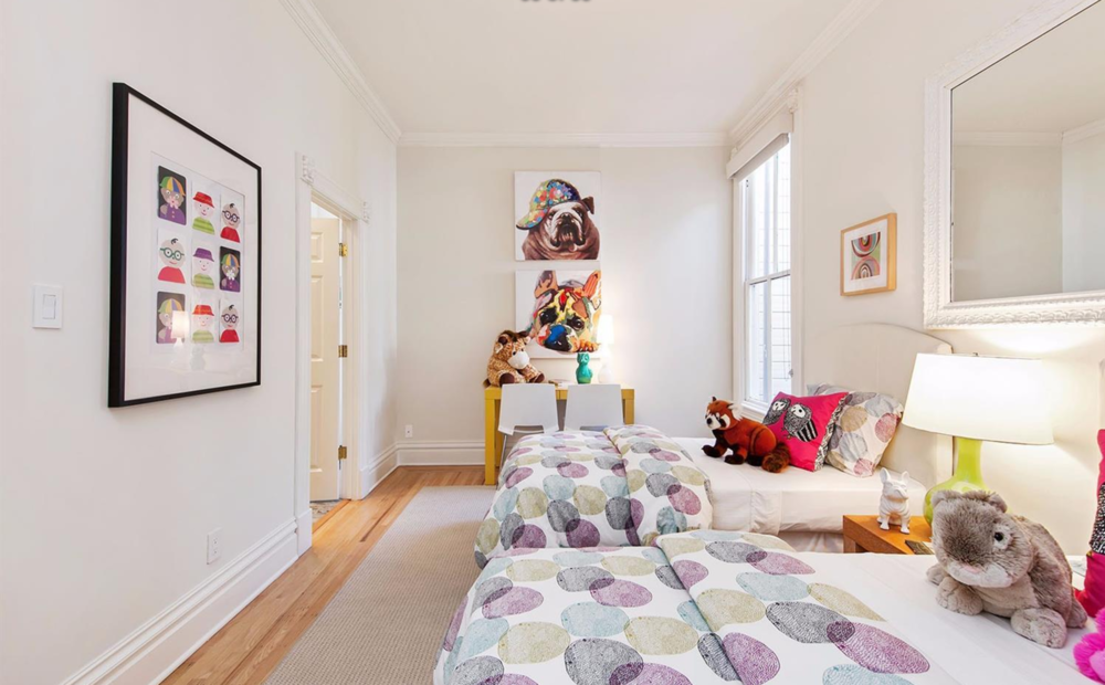 2521 Octavia Street - Kids Room
