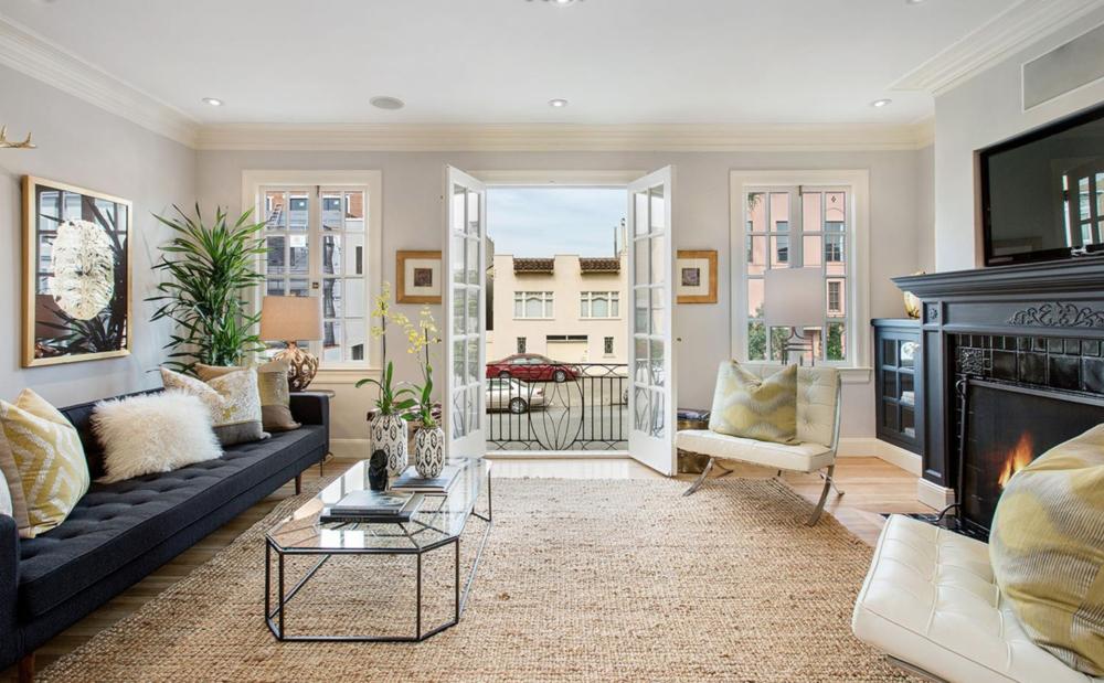 1361 Francisco Street - Living Room 2