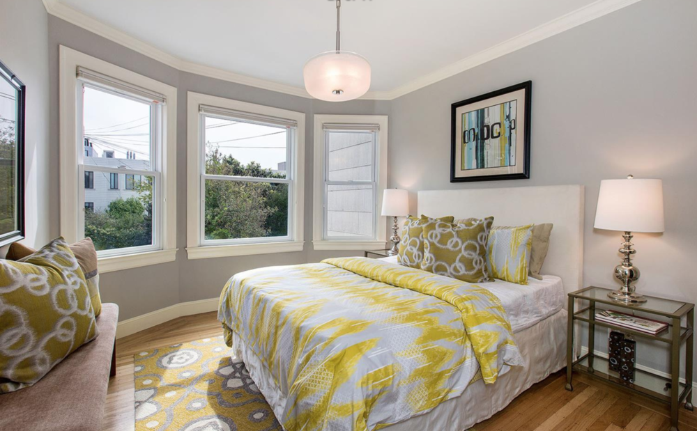 1361 Francisco Street - Guest Bedroom