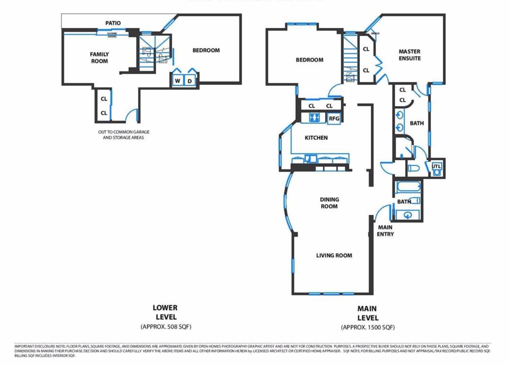 2929 Fillmore Street - Floor plan