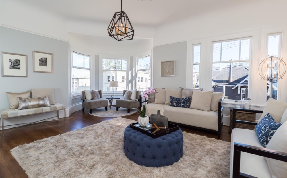2859 Steiner Street - Living Room