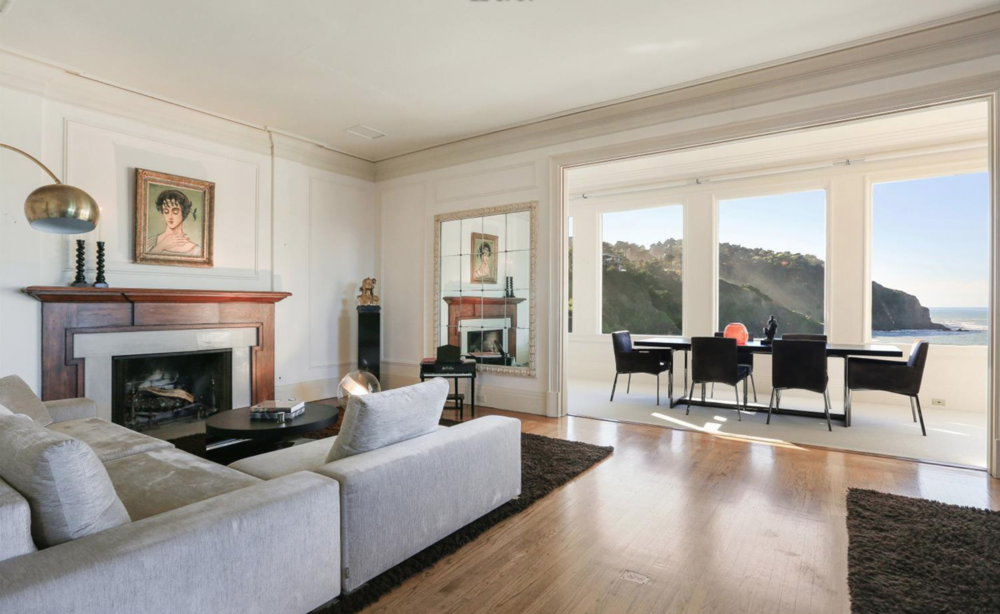 308 Sea Cliff Avenue - Living Room