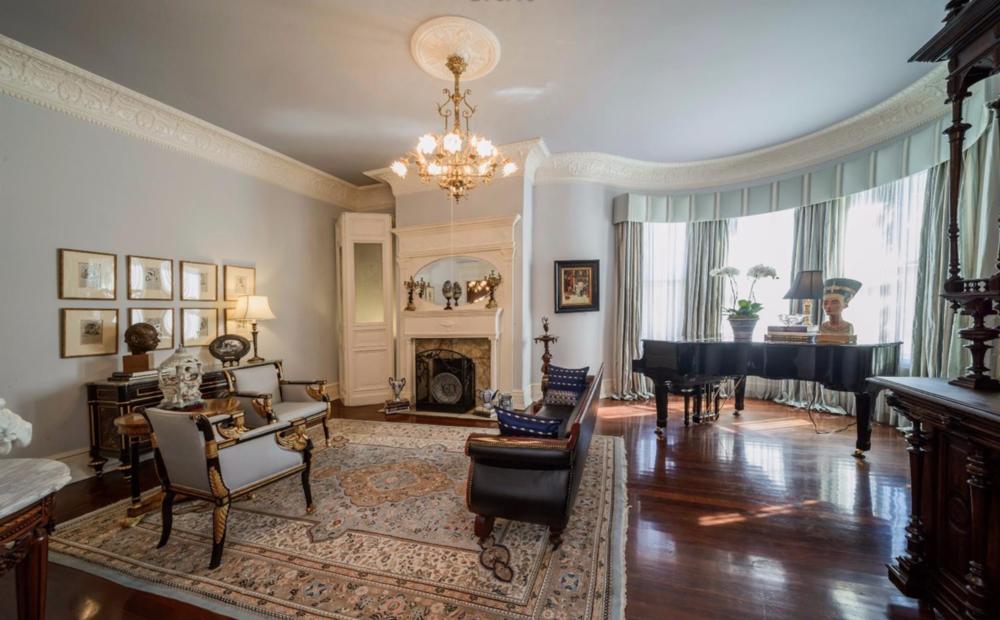 1701 Frankin Street - Victorian Living Room