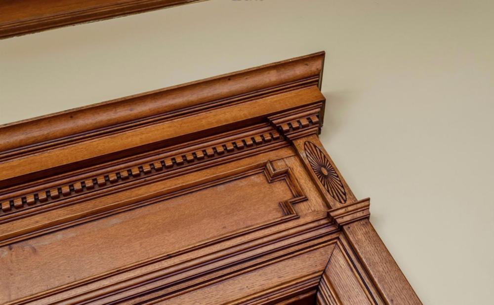 1701 Frankin Street - Victorian Home Woodwork