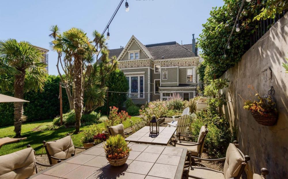 1701 Frankin Street - Backyard