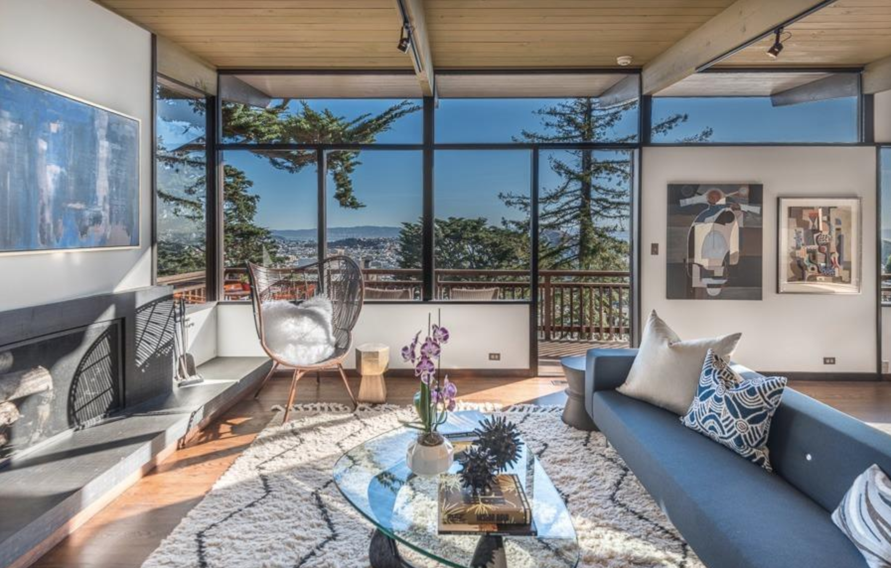 Top 10 mid century modern homes sold in san francisco