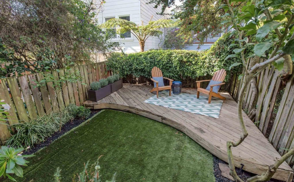 125 Downey St - Backyard