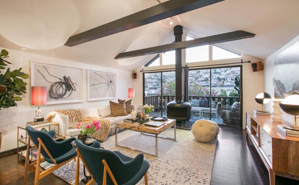 541 Diamond Street - Living Room