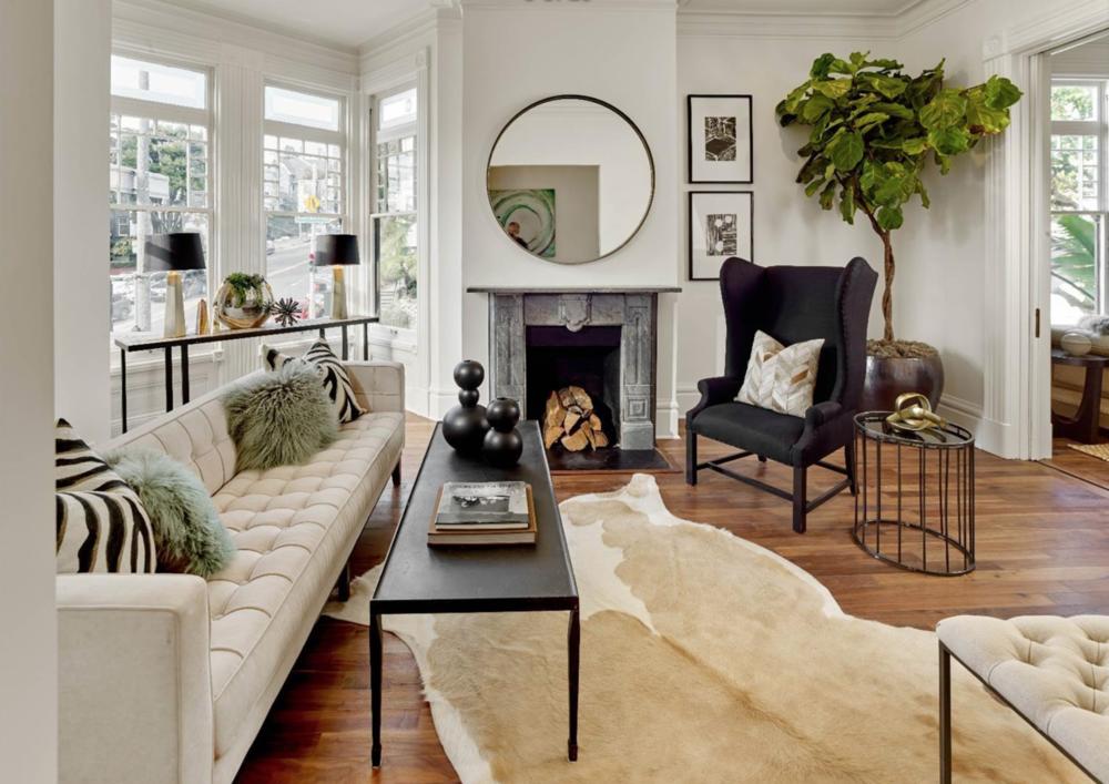 2060 Divisadero Street - Living Room
