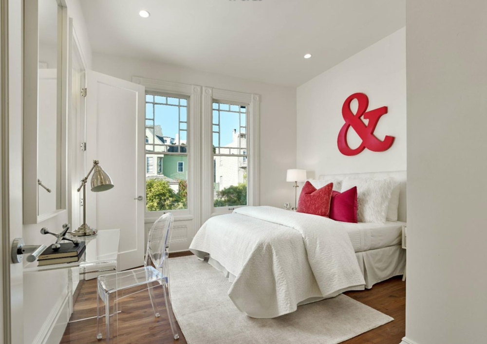 2060 Divisadero Street - Guest Bedroom