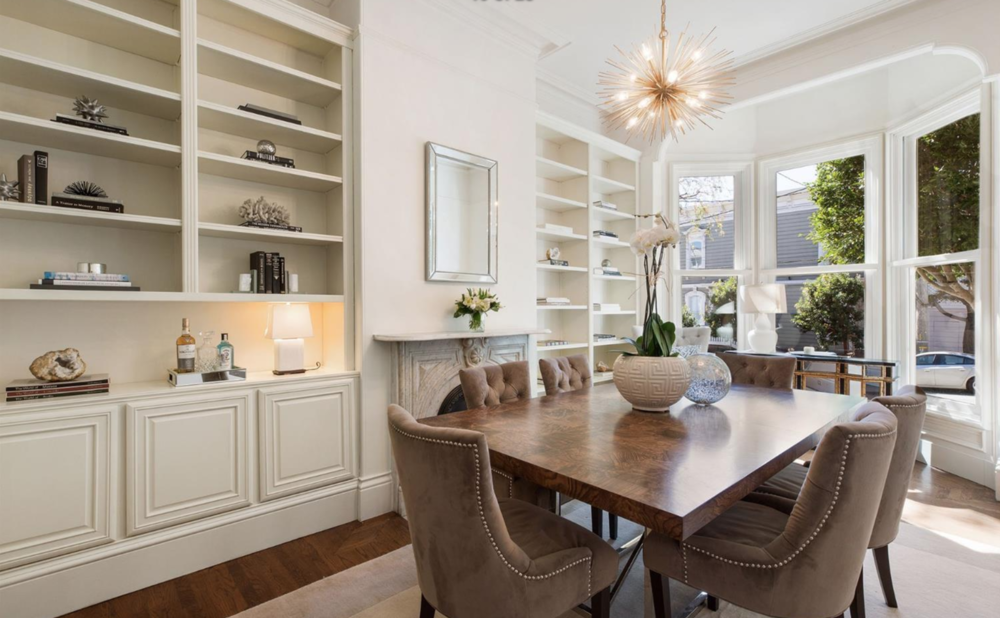 2148 Steiner St - Dining Room