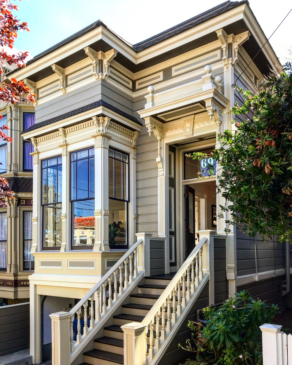 Victorian Architecture in Pacific Heights