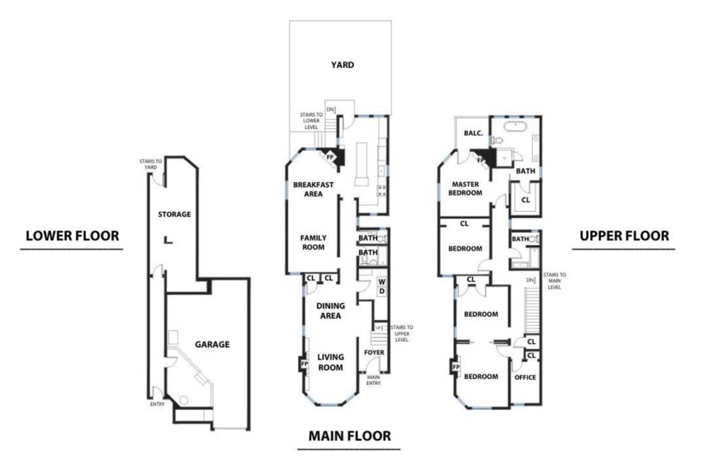 3880 Sacramento St - Floor Plan