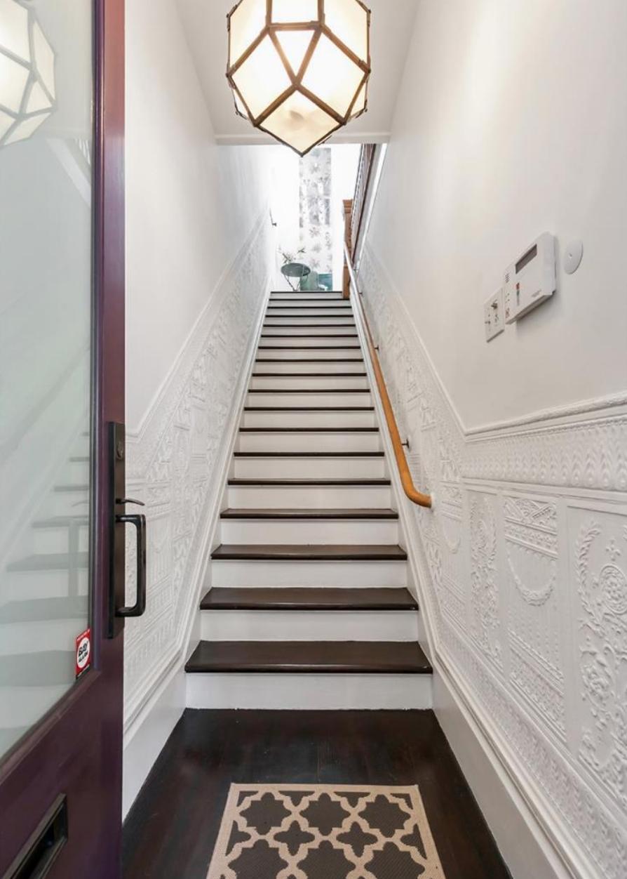 1859 Scott Street - Stairs