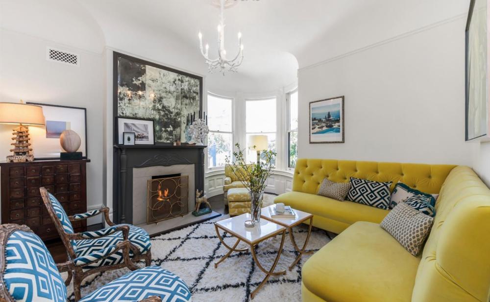 1859 Scott Street - Living Room