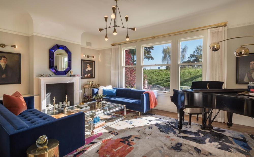 701 Scott Street - Living Room