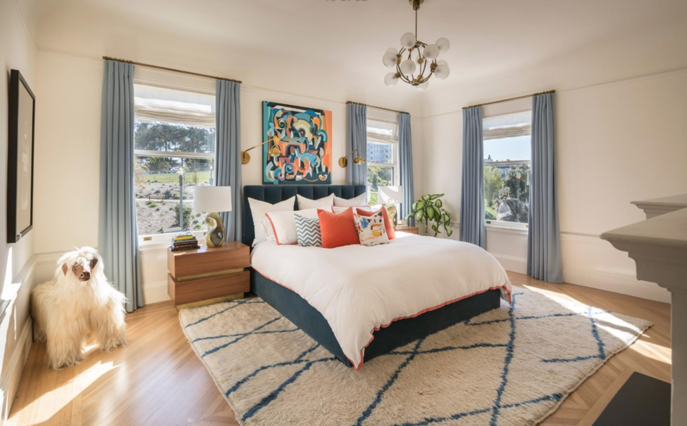 701 Scott Street - Master Bedroom