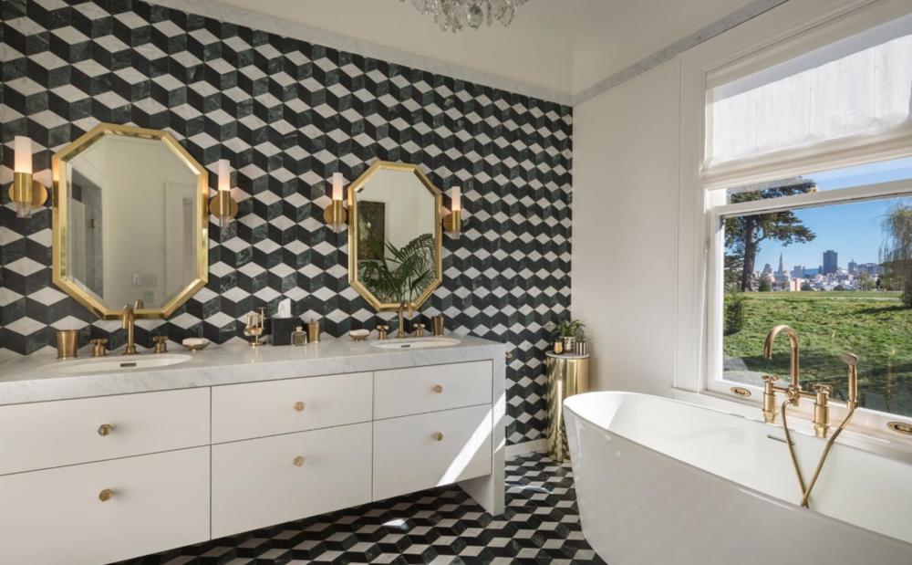 701 Scott Street - Master Bathroom