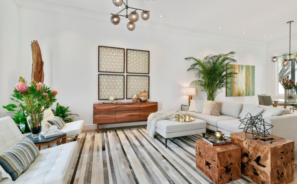 278 Chenery St - Living Room