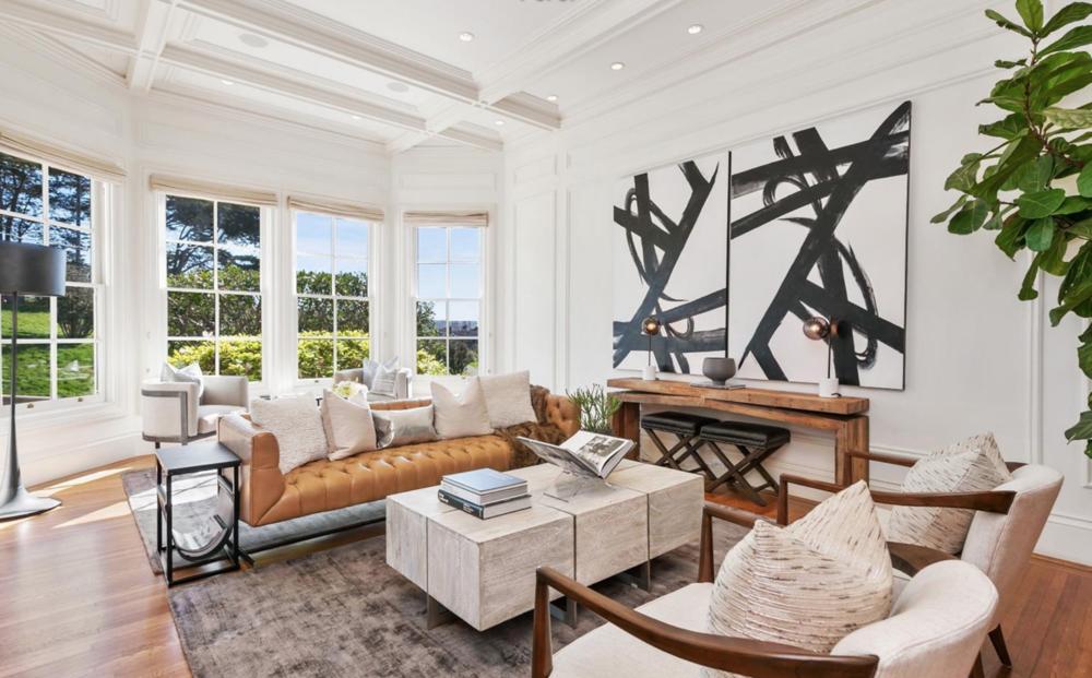 2219 Scott Street - Living Room