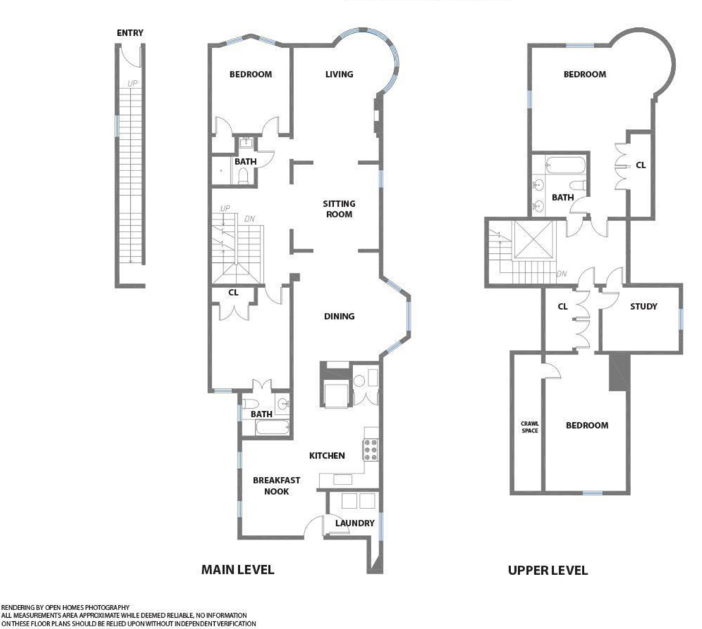 605 Waller Street - Floor Plan