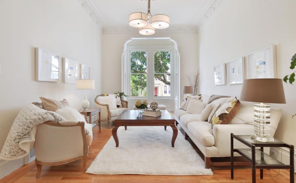 211 Divisadero Street - Living Room