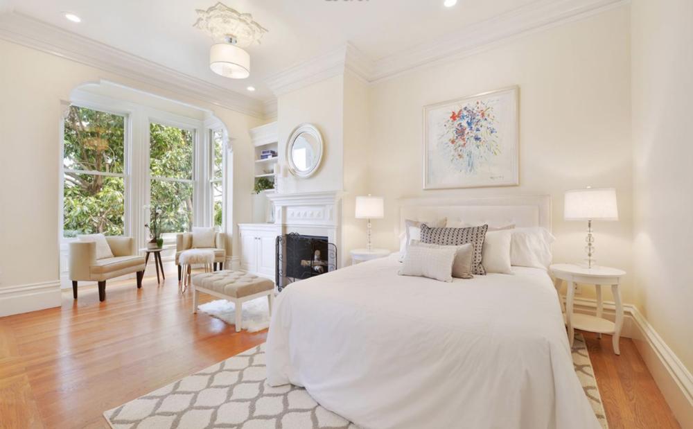 211 Divisadero Street - Master Bedroom