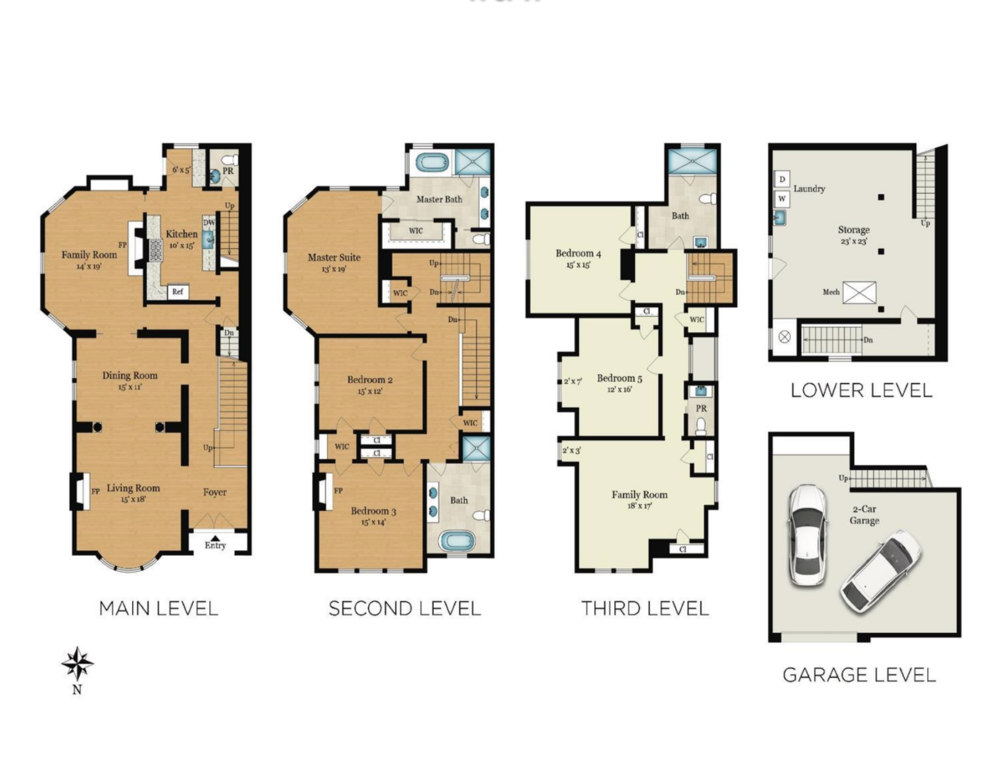925 Fulton Street - Floor Plan