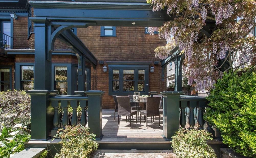 126 Commonwealth Ave - Backyard