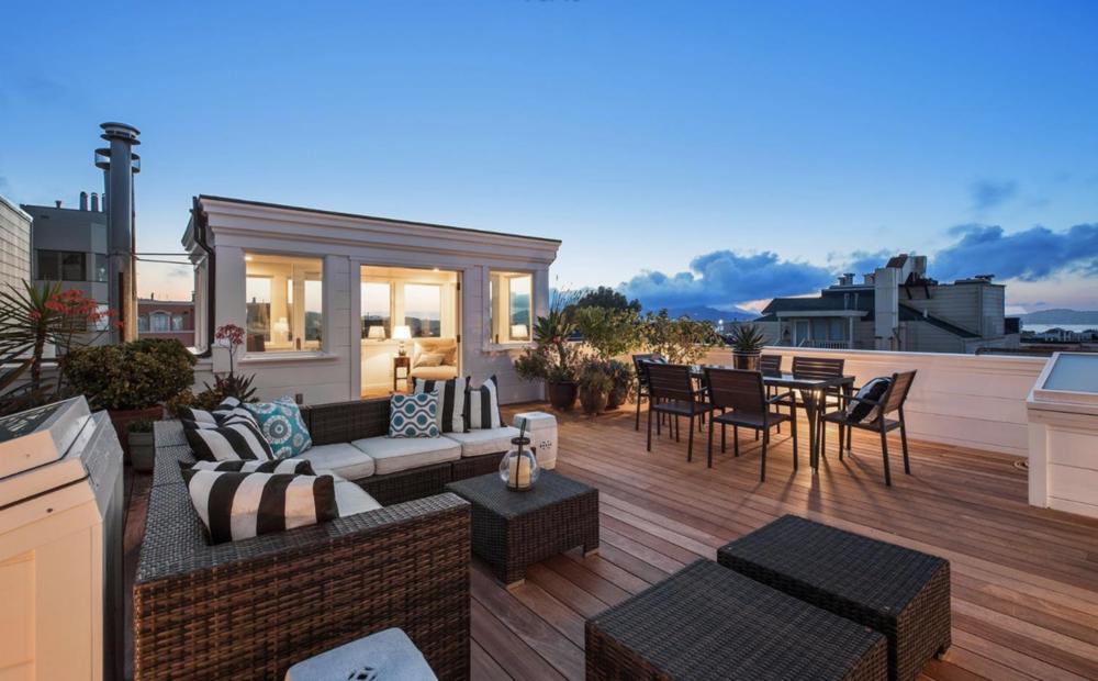 2754 Octavia St - Rooftop Deck