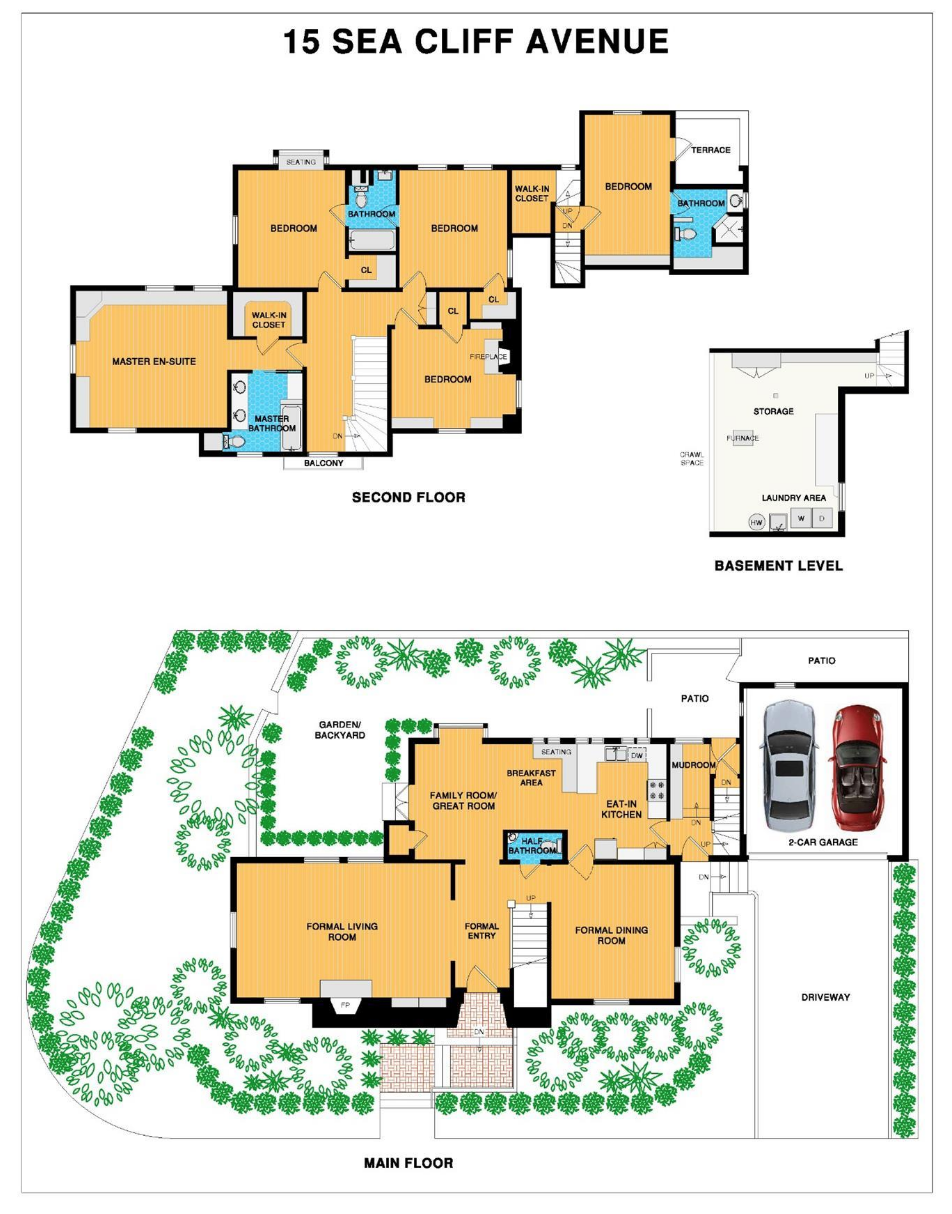15 Sea Cliff Ave - Floor Plan