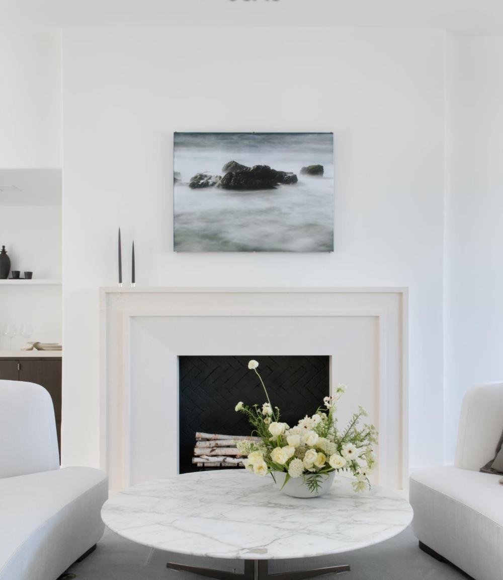 465 Marina Blvd - Fireplace