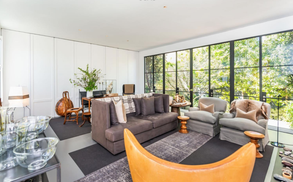 2454 1/2 Bush Street - Living Room