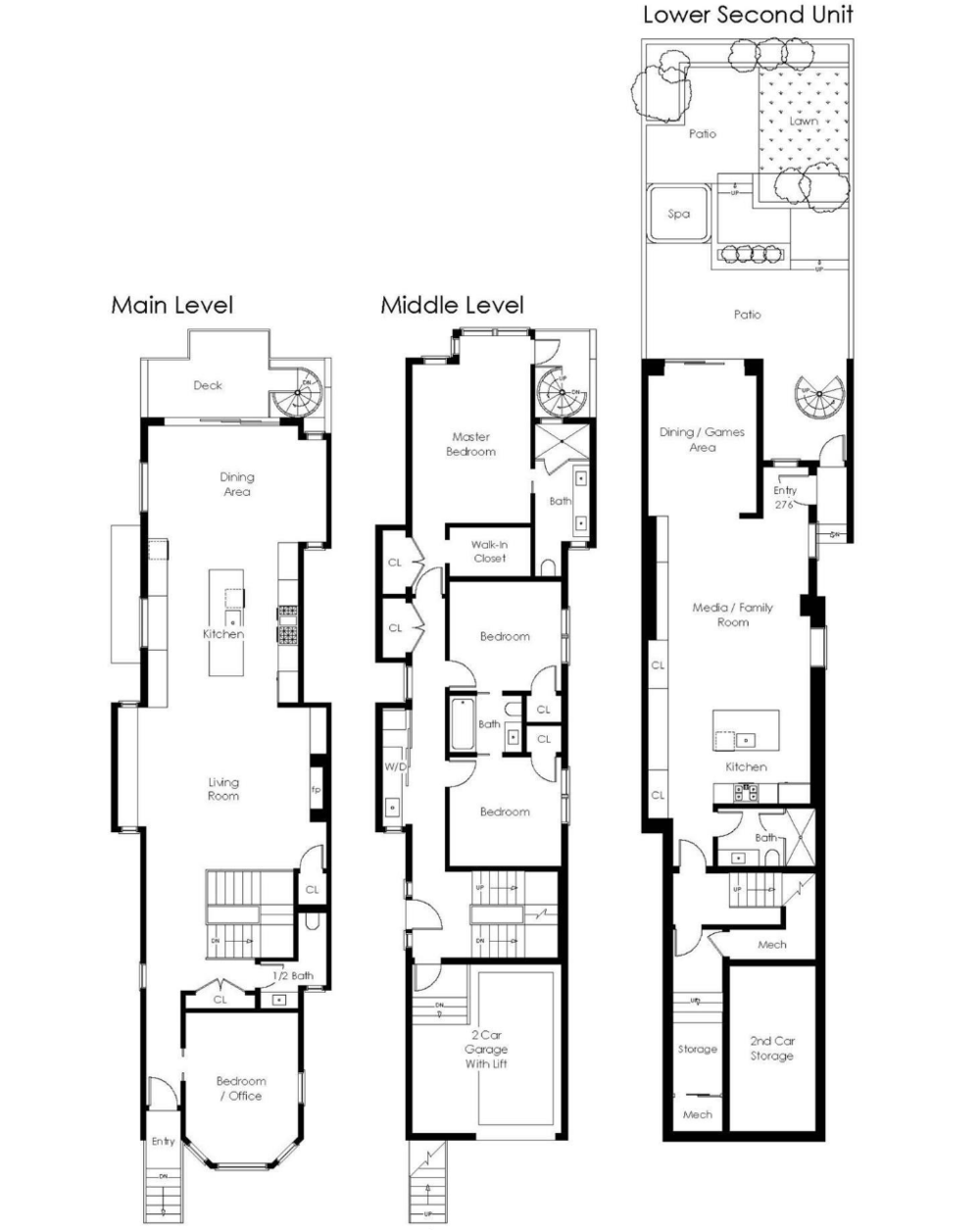 276-278 Hartford St - Floor Plan
