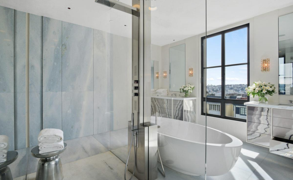 2626 Larkin Street - Master Bathroom
