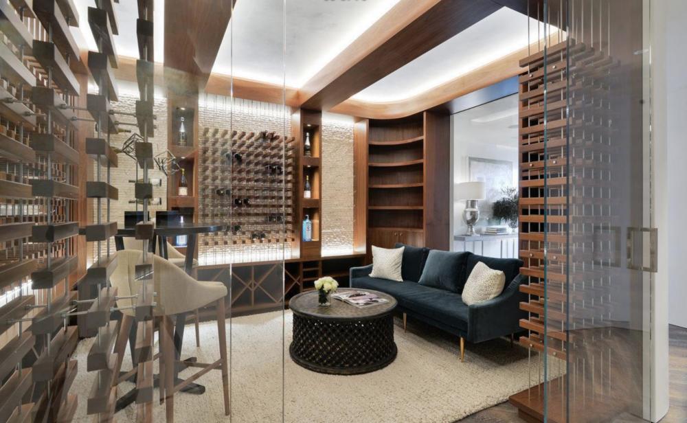 2626 Larkin Street - Wine Room