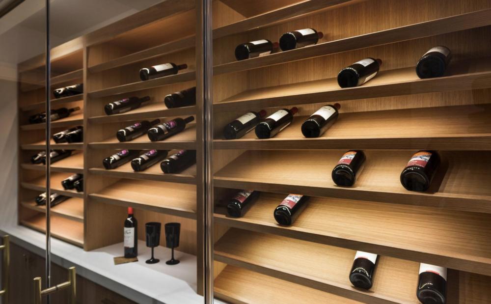 2178 Pine Street - Wine Room