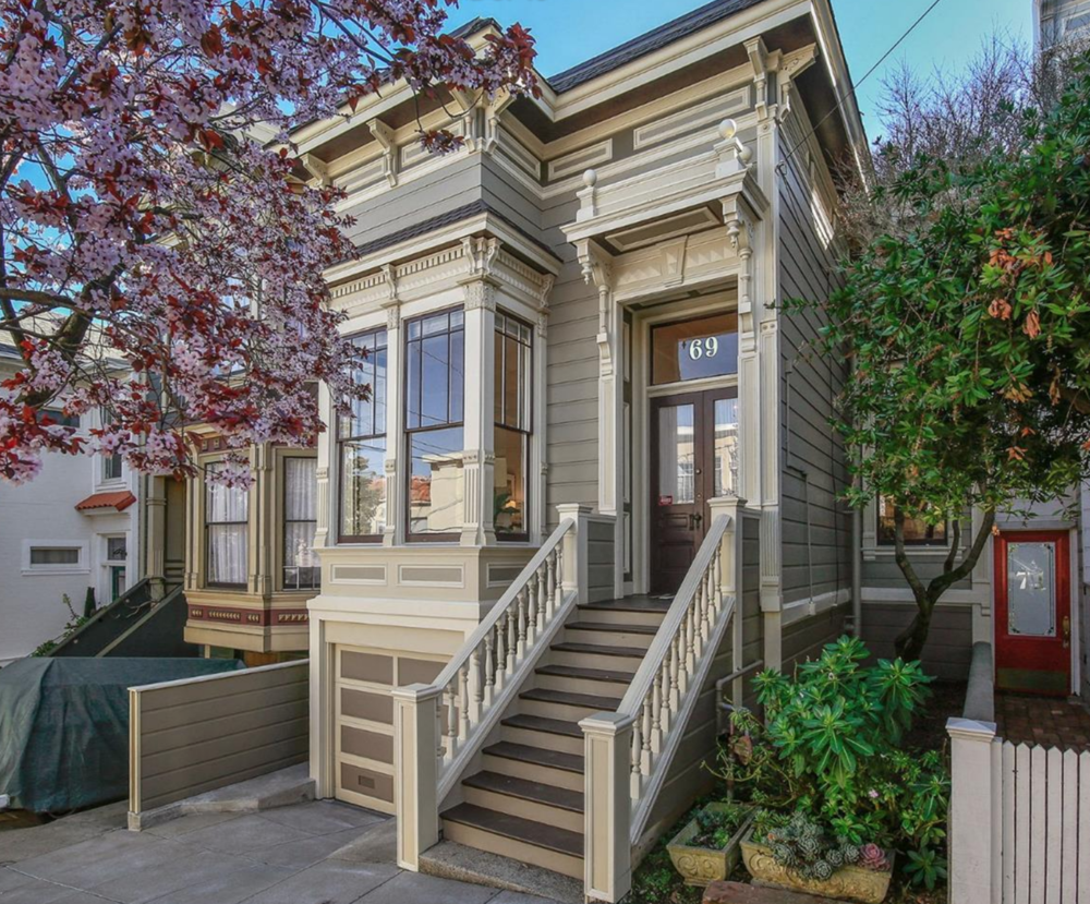 69 Beaver Street - Victorian Style Home - San Francisco