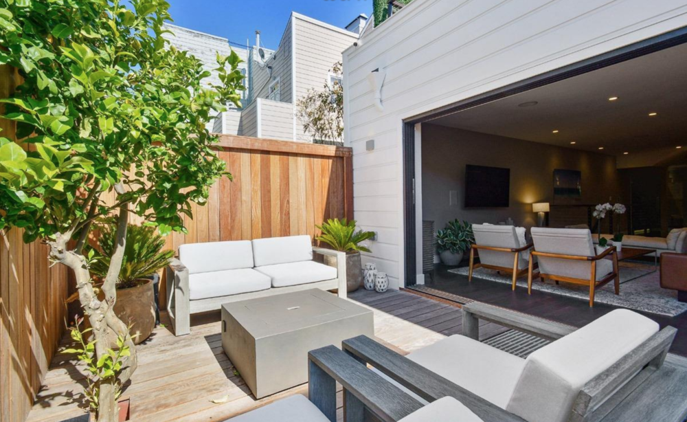 2268 Pine Street - Backyard