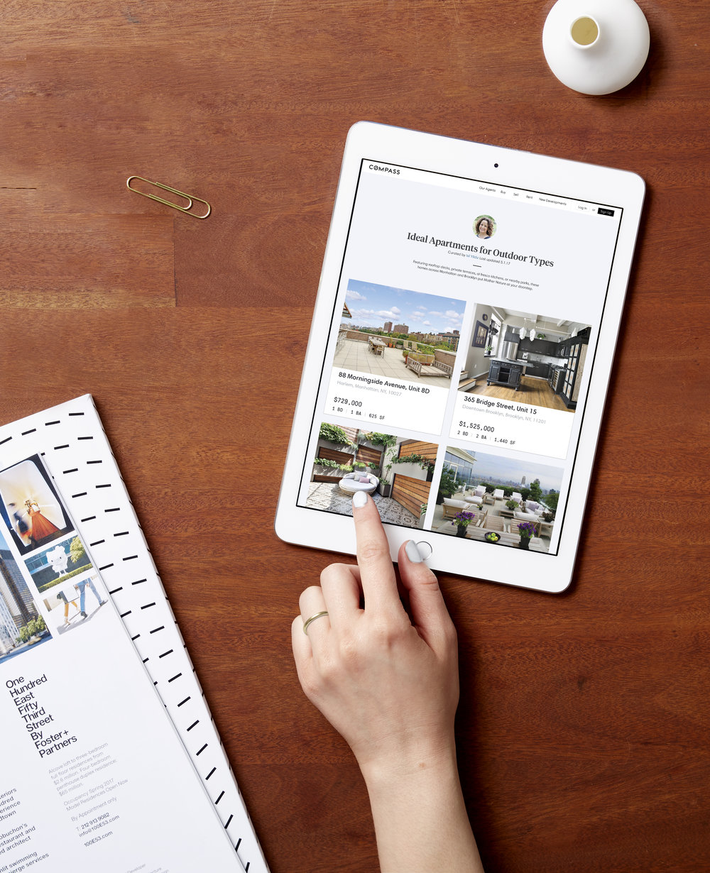 Compass Real Estate App